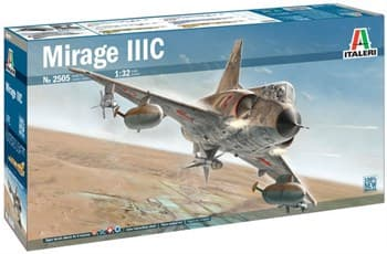 Самолёт Mirage IIIC  (1:32)