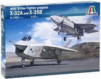 Самолёт Joint Strike Fighter program X-32A and X-35B   (1:72)