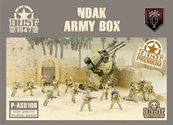NDAK Army Box (собран и окрашен) НДАК Набор Армии — Окраска Вавилон