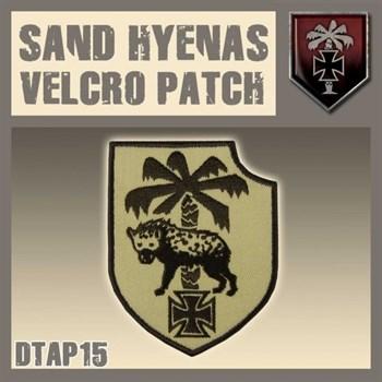 """Sand Hyenas Velcro Patch / Нашивка """"Пустынные гиены"""""""