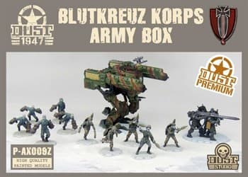 BLUTKEUZ ARMY BOX PREMIUM ZVEROGRAD(собран и окрашен)