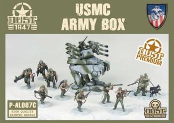 USMC ARMY BOX (собран и окрашен) УСМС Набор Армии - Окраска Звероград