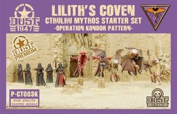 Cthulhu Mythos Starter Set (собран и окрашен) Мифы Ктулху - Стартовый набор - Окраска Кондор