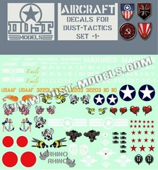 Aircraft Decals / Декали Авиация