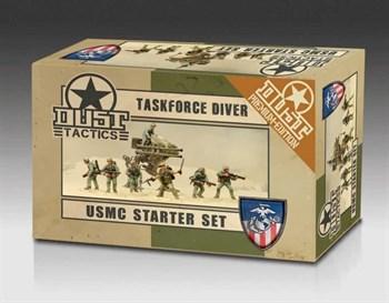 USMC Starter Set (собран и окрашен) УСМС Стартовый Набор — Танковая Группа Дайвер