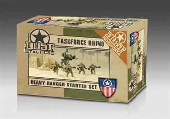 Heavy Ranger Starter Set - Assault Force Rhino (собран и окрашен) Тяжелые Рейнджеры Стартер - Штурмовая Группа Рино
