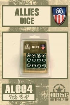 Allies Dice Set