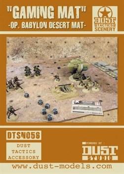 Dust Tactics Desert Gaming Mat / Игровое поле пустыня