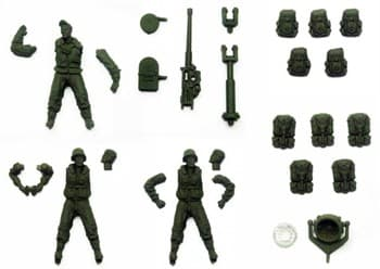 Allies Walker Crew Accessory Pack / Набор аксессуаров для шагателей Союзников