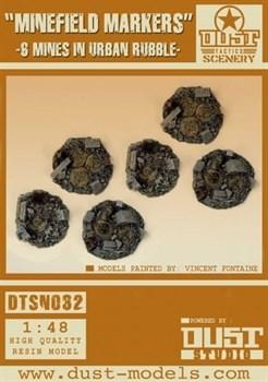 Minefield Markers (собран и загрунтован) Маркеры мин