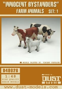 Innocent Bystanders (собран и загрунтован) Животные фермы