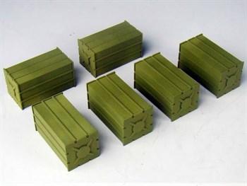 SSU Ammo Crates Set (собран и загрунтован) Набор ящиков КСС