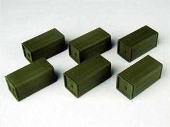 Allied Ammo Crates Set (собран и загрунтован) Набор ящиков Союзников