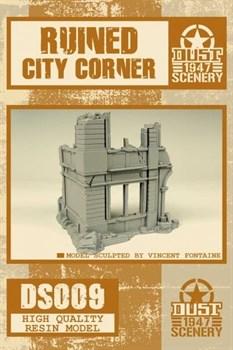 Ruined City Building Corner (не собран не окрашен) Разрушенное городское здание