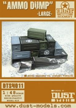 Large Ammo Dump (собран и загрунтован) Большая груда ящиков Союзников