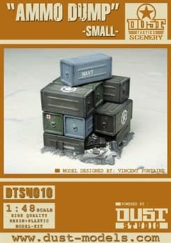 Small Ammo Dump (собран и загрунтован) Маленькая груда ящиков Союзников