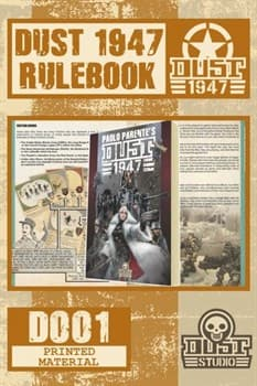 DUST 1947 RULE BOOK - Книга Правил Dust 1947