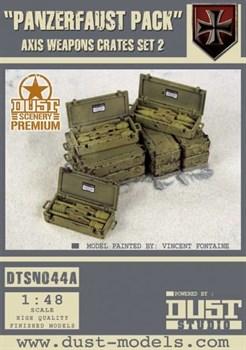 """Panzerfaust Pack"" Axis Weapon Crates Set 2 (собран и окрашен) Ящики с Оружием «Панцерфауст»"