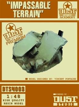 Premium Impassable Terrain (собран и окрашен) Непроходимый ландшафт - окраска Церберус