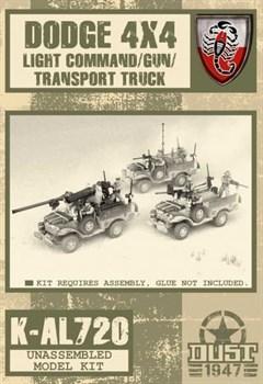 Dodge 4x4 Light Command/Gun/Transport truck (не собран не окрашен) Пустынные Скорпионы Машина