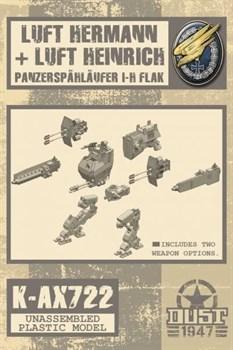Luftwaffe Walker Heinrich / Hermann (не собран не окрашен) Люфт Генрих (Троп) / Люфт Герман (Троп)