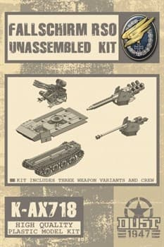 Fallschirm RSO FLAK 3 / PAK 40 / Laserkanone (не собран не окрашен) Десантный РСО Зенитный / ПАК 40 / Лазерный