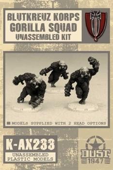 Blutkreuz Korps Gorilla Squad (не собран не окрашен) Блуткройц Подразделение Горилл