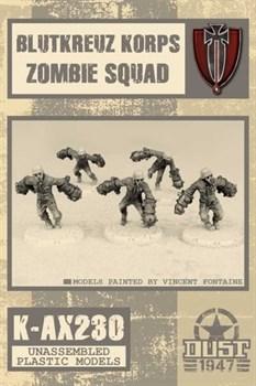 Blutkreuz Krops Zombies Squad (не собран не окрашен) Блуткройц Подразделение Зомби