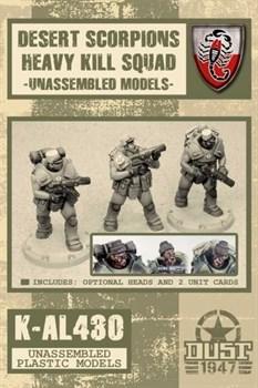 DESERT SCORPIONS HEAVY KILL SQUAD (не собран не окрашен) Пустынные Скорпионы Тяжелый Отряд Убийц