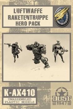 LUFTWAFFE RAKETENTRUPPE HEROES PACK (не собран не окрашен) Люфтваффе Ракетентруппе Набор Героев