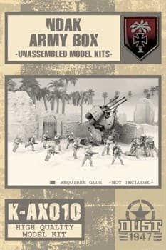 NDAK ARMY BOX MODEL KIT