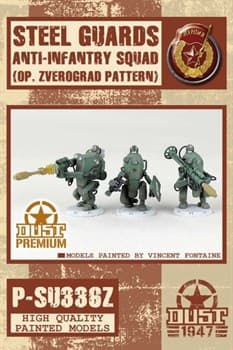 Steel Guards Anti-Infantry Squad - Zverogard Pattern(собран и окрашен)