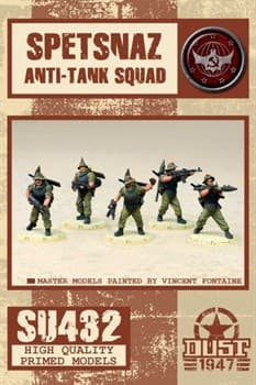 Spetsnaz anti-tank squad (собран и загрунтован) Специалисты Спецназа