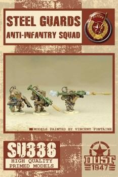 Steel Guards Anti-Infantry Squad (собран и склеен) Стальная Гвардия противопехотный отряд