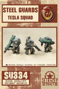 Steel guards tesla squad (собран и загрунтован) Стальная молния
