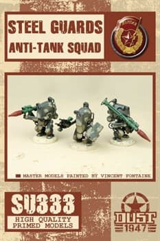 Steel guards anti-tank squad (собран и склеен) Стальной Гром