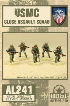 USMC CLOSE ASSAULT SQUAD (собран и склеен) УСМС штурмовой отряд