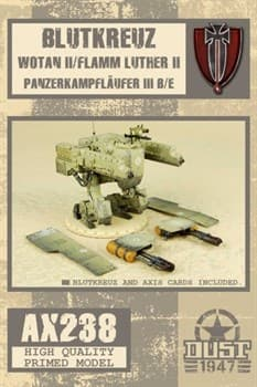 BLUTKREUZ WOTAN II / FLAMM LUTHER II (собран и загрунтован) Блуткройц Вотан 2 / Фламм Лютер 2