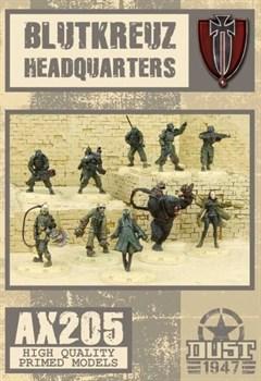 BLUTKREUZ HQ - (собран и загрунтован) Блуткройц Командование