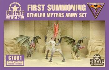 CTHULHU MYTHOS ARMY SET - FIRST SUMMONING (собран и склеен) Мифы Ктулху Набор Армии - Первый призыв