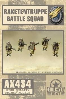 Rakettentruppe Battle Squad (собран и загрунтован) Ракетентруппе Боевое Подразделение