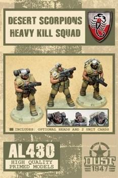DESERT SCORPIONS HEAVY KILL SQUAD (собран и склеен) Пустынные Скорпионы тяжелый отряд убийц