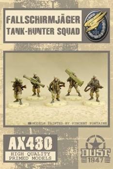 Fallschirmjager Tank-Hunter Squad (собран и загрунтован) Фальширмягер Противотанковое Подразделение