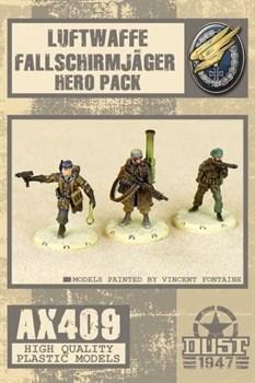 FALLSCHIRMJAGER HEROES PACK (собран и склеен) Фальширмягер Набор Героев