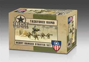 Heavy Ranger Starter Set - Assault Force Rhino (собран и загрунтован) Тяжелые Рейнджеры Стартер - Штурмовая Группа Рино