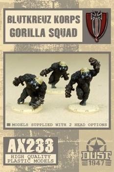 Blutkreuz Krops Gorilla Squad (собран и загрунтован) Блуткройц Подразделение Горилл