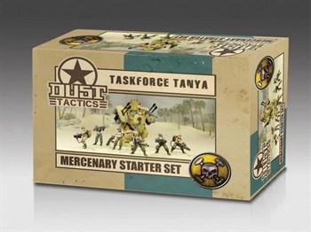 Mercenary Starter Set - Taskforce Tanya (собран и загрунтован) Наемники Стартовый Набор — Таня