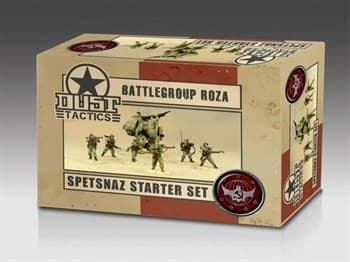 Spetsnaz Starter Set - Battlegroup Roza (собран и загрунтован) Спецназ Стартовый Набор - Боевая группа Розы