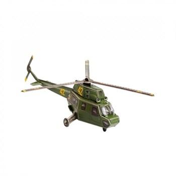 """""""Вертолет МИ-2 Helicopter"""" Сборная модель из картона. Масштаб 1/87"""