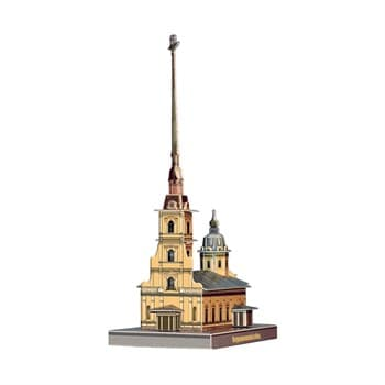 Петропавловский собор. Модель из картона Санкт-Петербург в миниатюре.